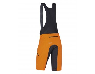 GORE BIKE WEAR POWER TRAIL 2in1 shorts blaze orange