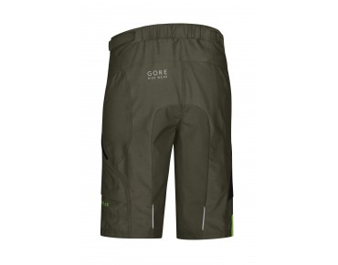 GORE BIKE WEAR POWER TRAIL bike shorts incl. inner shorts ivy green