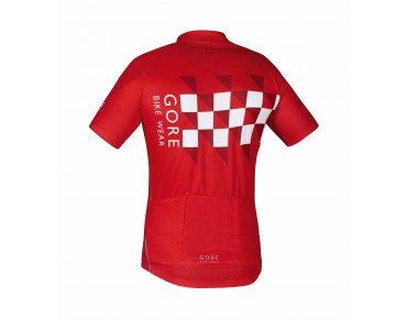 GORE BIKE WEAR ELEMENT FINISHLINE jersey red