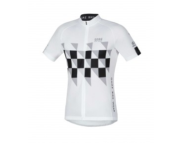 GORE BIKE WEAR ELEMENT FINISHLINE jersey white