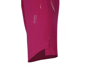 GORE BIKE WEAR ELEMENT 2in1 women's shorts including inner shorts jazzy pink