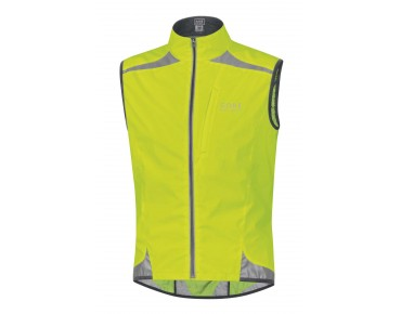 GORE BIKE WEAR VISIBILITY WS AS vest day-glo yellow