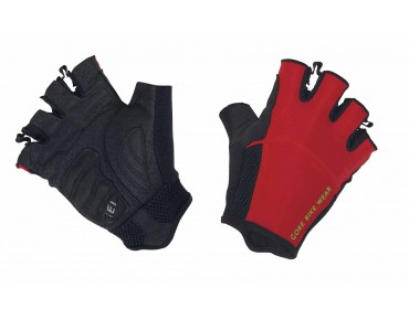 GORE BIKE WEAR POWER TRAIL gloves red/black