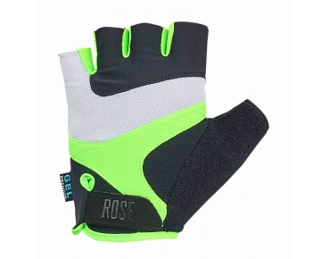 ROSE RSH GEL 03 handschoenen black/white/fluo green