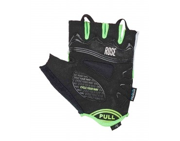 ROSE RSH GEL 03 gloves black/white/fluo green