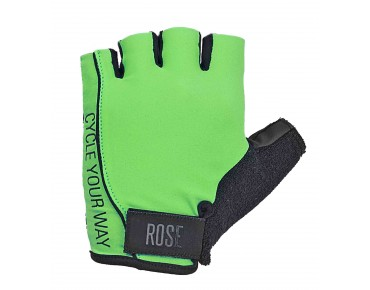 ROSE LYCRA gloves fluo green