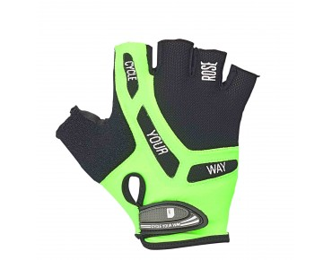 ROSE by Chiba BIOXCELL handschoenen black/fluo green