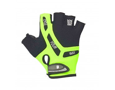 ROSE by Chiba BIOXCELL gloves black/fluo yellow