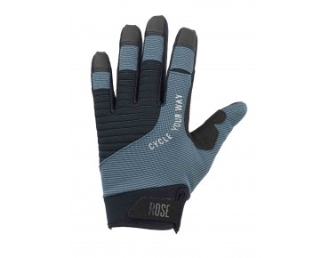 ROSE GEL III full-finger gloves black/grey