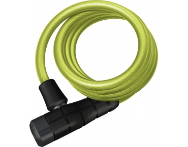 ABUS Primo 5510K spiral cable lock lime