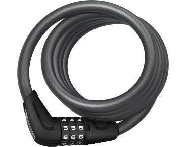 ABUS Star 4508C spiral cable lock black