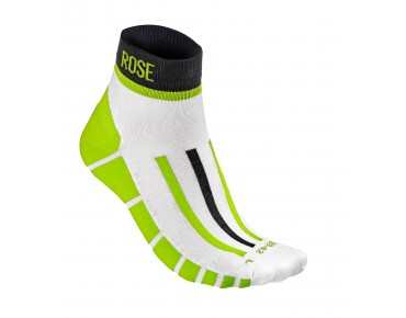 BLOCK socks black/neon green
