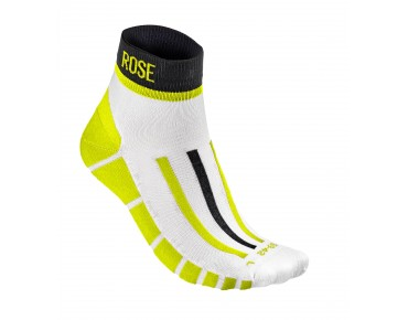 BLOCK socks black/neon yellow