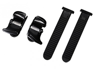 SHIMANO SMALL BUCKLE & STRAP SET replacement ratchet closure black