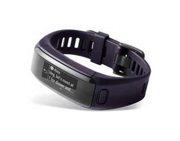 Garmin vivosmart HR Activity Tracker lila