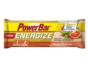 PowerBar Energize bar – new recipe – Bella Italia