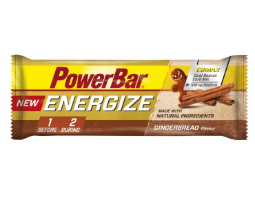 PowerBar Energize bar – new recipe – Gingerbread