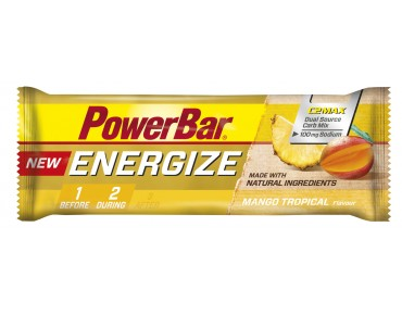 PowerBar Energize bar – new recipe – Mango Tropical
