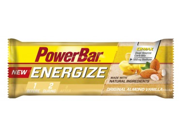 PowerBar Energize bar – new recipe – Original Almond Vanilla