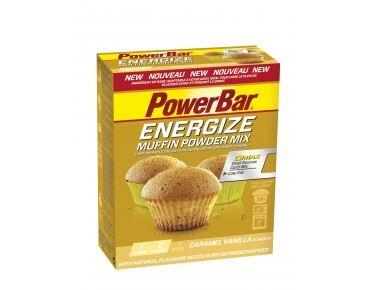 PowerBar Energize muffin baking mix Caramel Vanilla