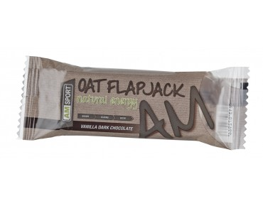 AMSport Oat Flapjack energy bar Vanilla Dark Chocolate