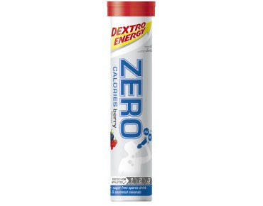 Dextro Energy Zero Calories effervescent tablets Berry
