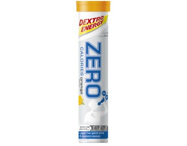 Dextro Energy Zero Calories effervescent tablets Orange