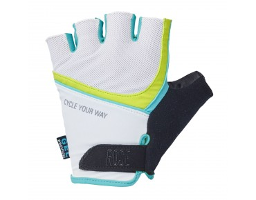 ROSE LADY CYW Handschuhe white/malibu/lime