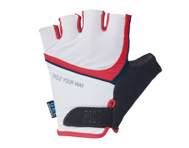 ROSE MOUNTAIN LADY gloves white/navy/red