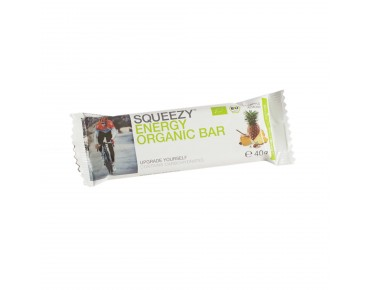 Squeezy Energy Organic Bar fruit bar pineapple/almond