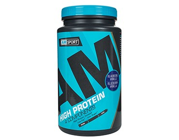 AMSport High Protein powder bilberry-vanilla