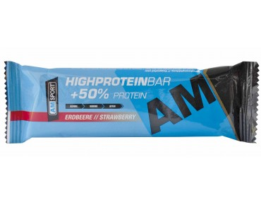 AMSport High Protein Bar 50% strawberry
