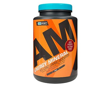 AMSport Energy Mineral drink powder red fruits