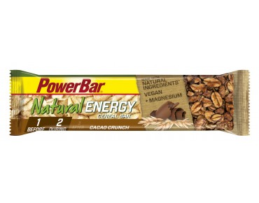 PowerBar Natural Energy Cereal bar Cacao-Crunch