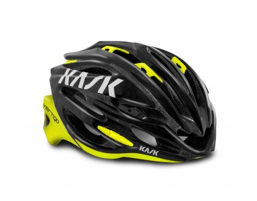 KASK VERTIGO 2.0 road helmet black/flou yellow
