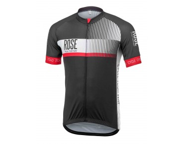 ROSE TOP CYW Trikot Kurzarm black/white/red