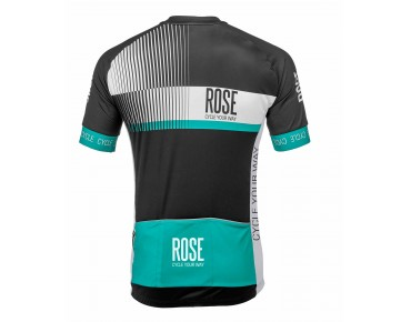 ROSE TOP CYW Trikot Kurzarm black/white/malibu