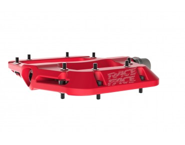 Race Face Chester Composite flat pedals rot