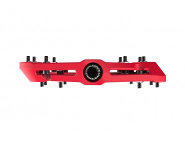 Race Face Chester Composite flat pedals red