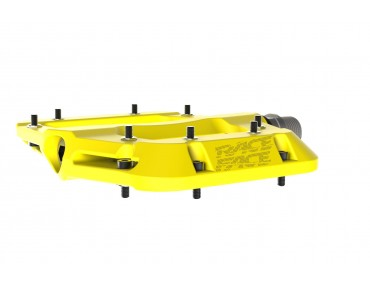 Race Face Chester Composite flat pedals yellow