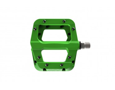 Race Face Chester Composite flat pedals green
