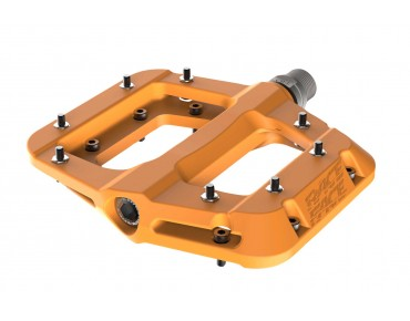 Race Face Chester Composite flat pedals orange