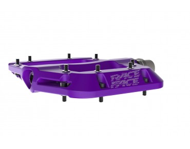 Race Face Chester Composite flat pedals purple