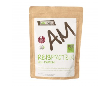 AMSport rice protein drink powder neutral
