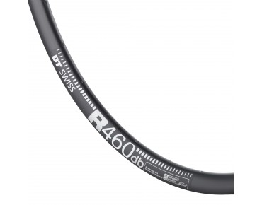 DT Swiss R-460 db DISC road bike rim black
