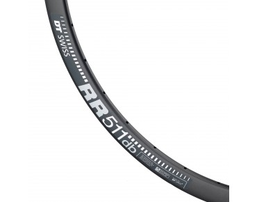 DT Swiss RR-511 db DISC road bike rim black