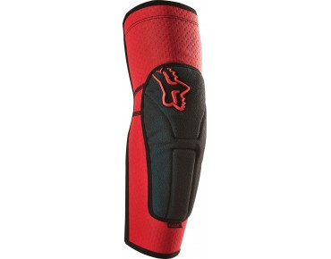 FOX LAUNCH ENDURO elbow protectors red