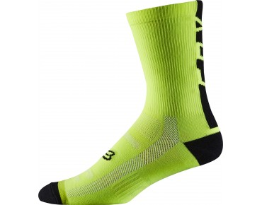 FOX DH socks flo yellow
