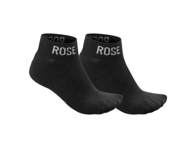 ROSE ERGO SPORT socks in a twin pack black
