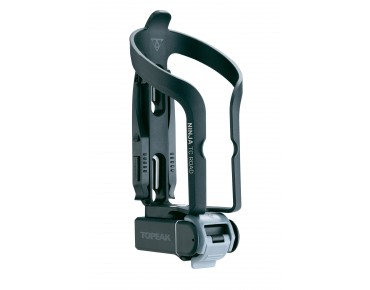 Topeak Ninja TC Road bottle cage with tool case and mini tool schwarz
